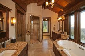 Natural Stone Bathroom Ideas Image Of Modern Rustic Bathroom Lighting Rustic Modern Bathroom