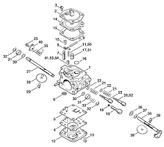 stihl chainsaw carburetor adjustment tune up settings