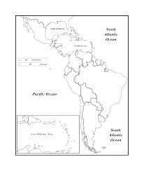 Latin America Political Map by Maps Of The Americas Page 2