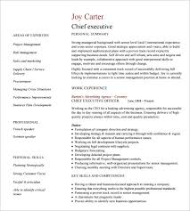 Sample Resume For Senior Manager by Download Executive Resume Format Haadyaooverbayresort Com