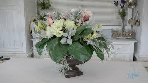 Table Flower Arrangements Flowers U0026 Floristry Tutorial Round Dining Table Artificial
