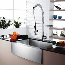Lowes Kitchen Sink Faucet Kitchen Convenient Cleaning With Stainless Steel Farm Sink