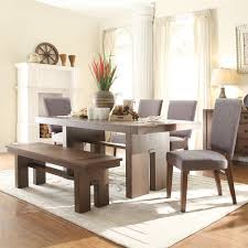 dining room rustic dining room tables with benches perfect