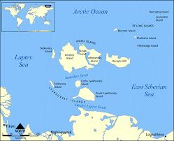 Thousand Islands Map Bolshoy Lyakhovsky Island Wikipedia
