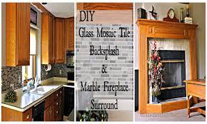 serendipity refined blog diy updates glass mosaic tile kitchen