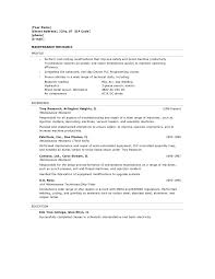 resume format objective resume template automotive mechanic format auto sample no resume template automotive mechanic format auto sample no experience cover letter