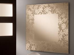 Home Interior Decorating Idea with Wall Mirror Design