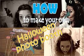diy halloween photo booth props how to make photo booth props for