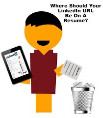 Linkedin Url On Resume Where Should I Put My Linkedin Url Address On My Resume Ranked