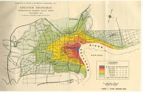 Asia Maps  Digital Collections   Center for the Study of Asia shanghai land value      map