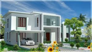 Simple 4 Bedroom House Plans by 4 Bedroom Modern Flat Roof House House Design Plans Tec Large