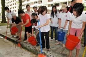 SMK Jerantut Dengue Buster   DENGUE BUSTER ALLEY OPENING CEREMONY