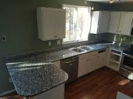 granite countertop desk cabinets fire in the microwave granite