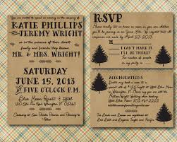 Discount Wedding Invitations With Free Response Cards 68 Best Rustic Wedding Invitations Images On Pinterest