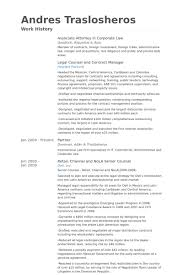 Law Resume Samples by Associate Attorney Resume Samples Visualcv Resume Samples Database