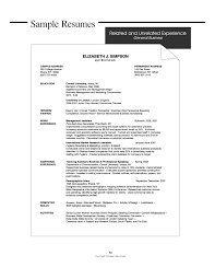 Sample Resume Objectives For Job Fair by 33 Resume Objective Marketing Cv Career Objective Marketing