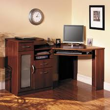 corner computer desk home painting ideas
