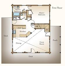 Log Cabin With Loft Floor Plans Ranch Floor Plans Log Homescabin Style House Plans With Loft