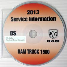 ram truck service manuals original shop books factory repair manuals