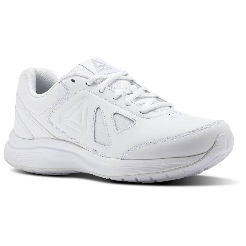 Reebok Ultra 6 White/Steel Wide D Walking Shoes