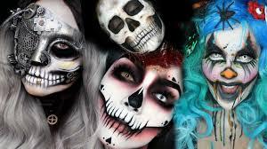 top easy halloween makeup tutorial compilation 2016 youtube