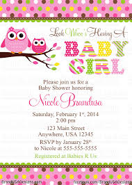 Invitation Cards For Baby Shower Templates Owl Baby Shower Invitations Owl Baby Shower Invitations