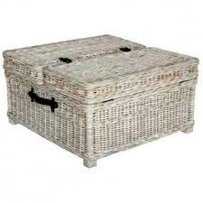 rattan coffee table trunk foter