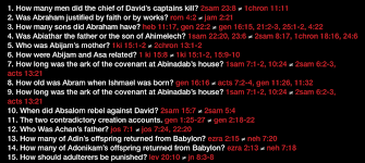 incredible interactive chart biblical contradictions