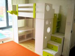 Expensive Kids Room Bunk Beds With Stairs And Desk Optional Tent - Kids bunk bed with desk