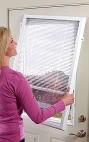 exterior door with blinds between glass faqs blinds between glass for exterior doors odl add on blinds