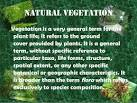 natural vegetation and wildlife of india