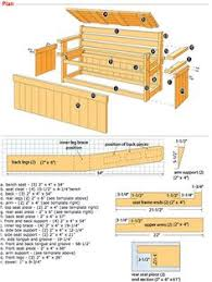 Plans To Build A Storage Bench by How To Build A Bench With Hidden Storage Extra Seating Decking