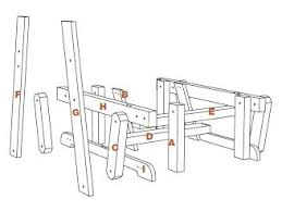 Free Wooden Garden Chair Plans by Off Tha Chain