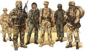 Heritage Studio: Desert Storm Marine Uniforms - desertstorm