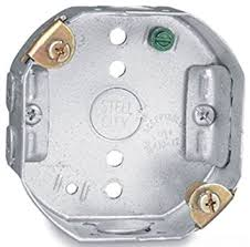 Ceiling Electrical Box by Steel City 54151 Cfb Pre Galvanized Steel Octagon Ceiling Fan