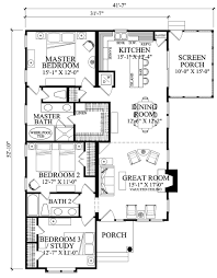 bungalow style house plan 3 beds 2 00 baths 1504 sq ft plan 137 270