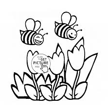 coloring bee coloring pages