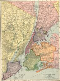 New York Map Us by Us Urban Regions From Hammond U0027s 1910 Atlas Legaltowns