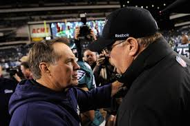 Andy Reid and Bill Belichick