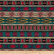 Home Decor Fabric Sale Fiesta Stripe Turquoise Discount Designer Fabric Fabric Com