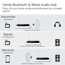home theater bluetooth transmitter avantree oasis long range bluetooth transmitter and receiver new