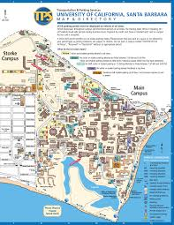 California Maps University Of California Santa Barbara Map California Map