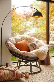 Reading Nook Furniture by Bedroom Marvelous Rattan Papasan Chair For Enjoyable Home Chair