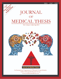 vol 1 issue 1 july sep 2013 journal of medical thesis