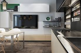 House Designs Kitchen by Designing For Small Spaces 3 Beautiful Micro Lofts