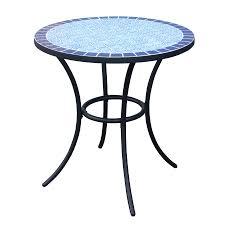 Lowes Patio Furniture Sets by Shop Garden Treasures Pelham Bay 4 Seat Round Black Steel Bistro