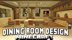 minecraft tutorial how to build a house part 13 dining room