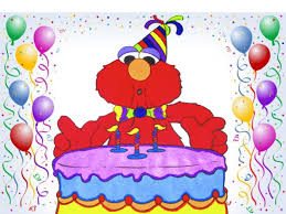 elmo sesame street birthday cake coloring page speed coloring with
