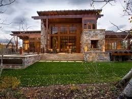 Modern Mountain Homes Modern Rustic Homes Modern Rustic House - Modern rustic home design