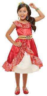 Walmart Halloween Costumes Girls Disney Princess Elena Avalor Adventure Dress Walmart